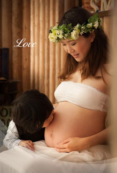 maternity photo ながはら写真館